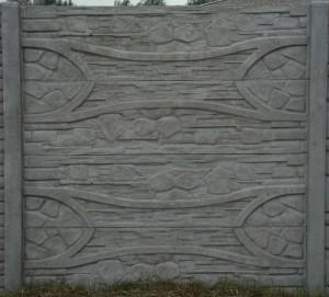 Ogrodzenie betonowe zestaw nr 23