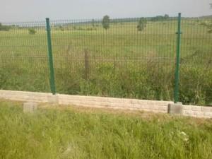 Panele ogrodzeniowe z podmurówką