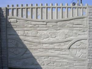 Ogrodzenie betonowe zestaw nr 19