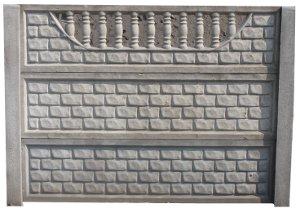 Ogrodzenie betonowe zestaw nr 20