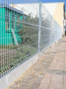 Panele ogrodzeniowe ocynkowane z podmurówką