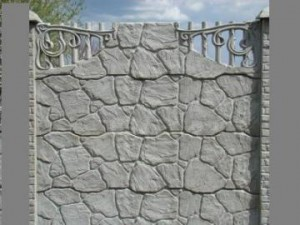 Ogrodzenie betonowe zestaw nr 12