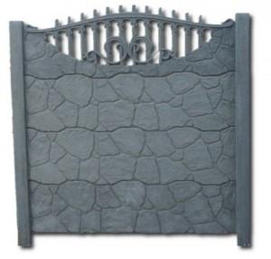 Ogrodzenie betonowe zestaw nr 14