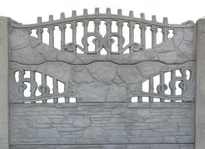 Ogrodzenie betonowe zestaw nr 15