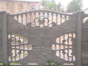 Ogrodzenie betonowe zestaw nr 18