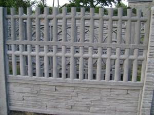 Ogrodzenie betonowe zestaw nr 27