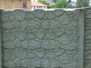 Ogrodzenie betonowe zestaw nr 9