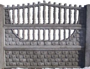 Ogrodzenie betonowe zestaw nr 6