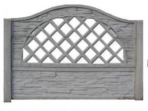 Ogrodzenie betonowe zestaw nr 21