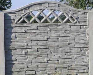 Ogrodzenie betonowe zestaw nr 22