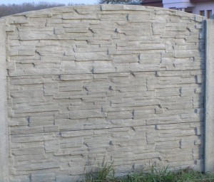 Ogrodzenie betonowe zestaw nr 26