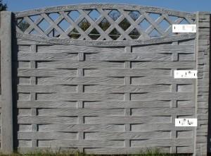 Ogrodzenie betonowe zestaw nr 29