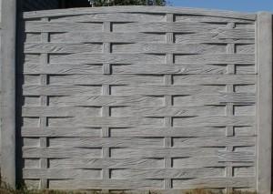 Ogrodzenie betonowe zestaw nr 28